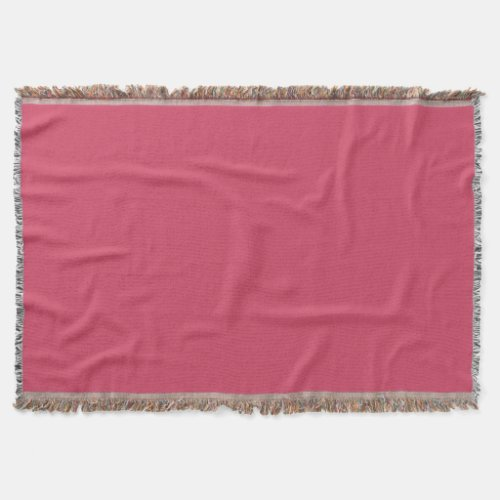 Raspberry Delight Throw Blanket