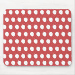 Raspberry Dots Mouse Pad