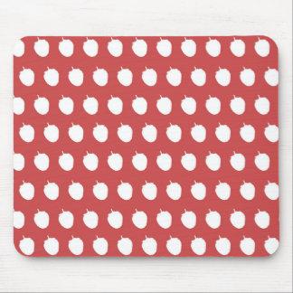 Raspberry Dots Mouse Pad