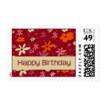 Raspberry Fizz • Birthday Stamp