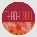 Raspberry Fizz • Thank You Sticker