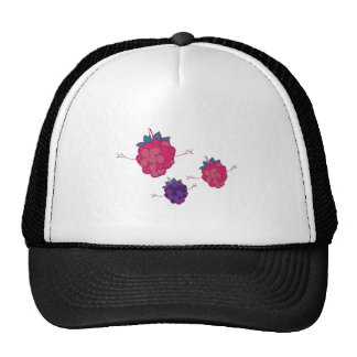 Raspberry Fruit Mesh Hat