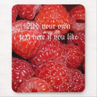 Raspberry fun mousepad