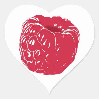 Raspberry: Heart Sticker