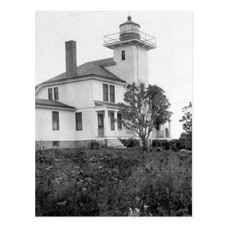 Raspberry Island Lighthouse Postcard