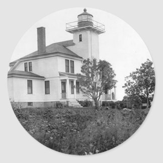 Raspberry Island Lighthouse Sticker