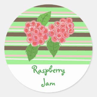 Raspberry Jam Classic Round Sticker