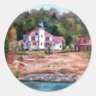 Raspberry Lighthouse Sticker