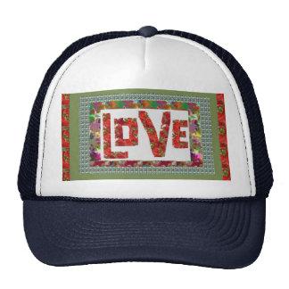 RASPBERRY Love :  Ideal Romantic Gift Mesh Hats