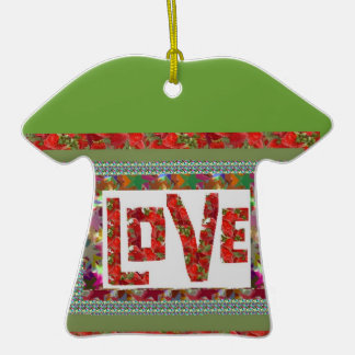 RASPBERRY Love :  Ideal Romantic Gift Christmas Ornaments
