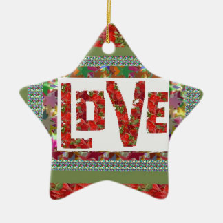 RASPBERRY Love :  Ideal Romantic Gift Christmas Tree Ornament