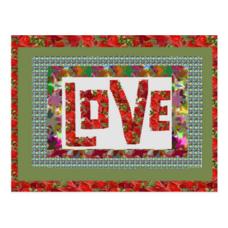 RASPBERRY Love :  Ideal Romantic Gift Post Cards