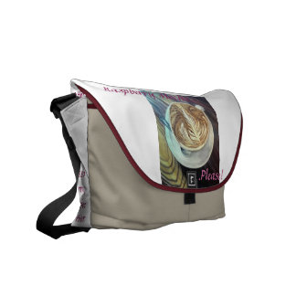 Raspberry Mocha Cafe Bag Courier Bags