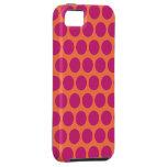 Raspberry Mod Dots iPhone 5 Case