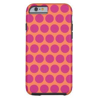 Raspberry Mod Dots iPhone 6 case