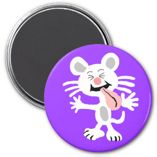 Raspberry Mouse Magnet