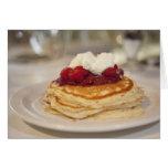 Raspberry pancakes cards