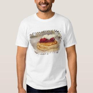 Raspberry pancakes t shirt