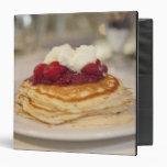 Raspberry pancakes vinyl binders