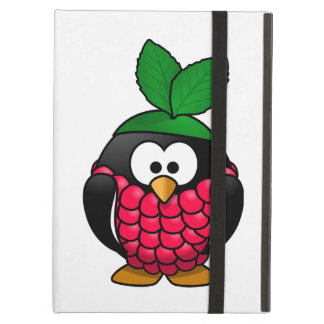 Raspberry Penguin Toony Drawing Cover For iPad Air
