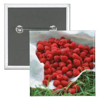 Raspberry Pinback Button