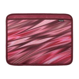 Raspberry pink pattern MacBook air sleeve
