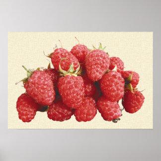 Raspberry Poster