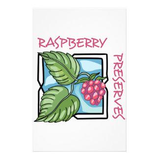 Raspberry Preserves Stationery