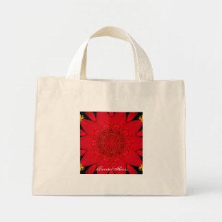 Raspberry Red Tote, TwistedHearts Tote Bag
