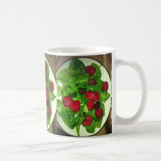 RASPBERRY SALAD CLASSIC WHITE COFFEE MUG