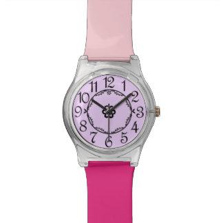 Raspberry Sherbert Watch in Pink & Purple