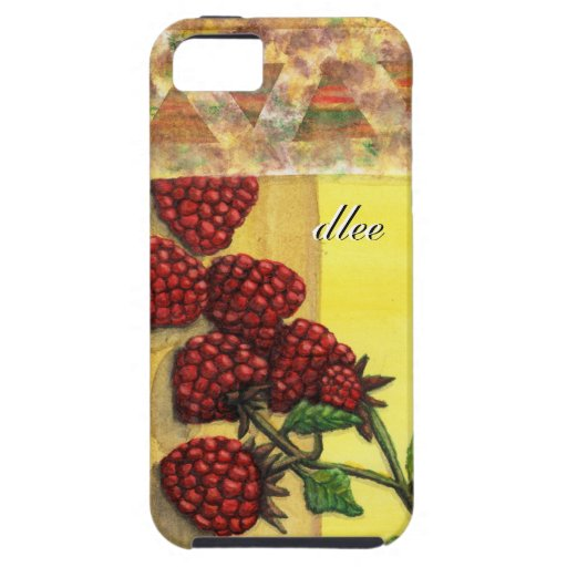 raspberry stamping limited edition iPhone 5 case