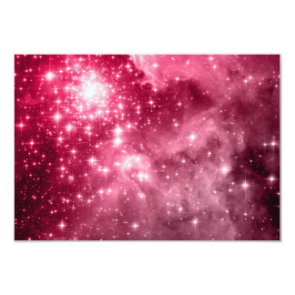 Raspberry Stars 3.5x5 Paper Invitation Card