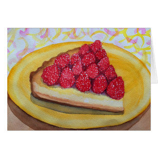 Raspberry Tart Card