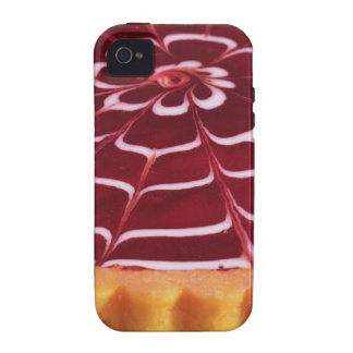 Raspberry tart vibe iPhone 4 cases