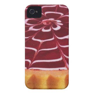 Raspberry tart iPhone 4 cover