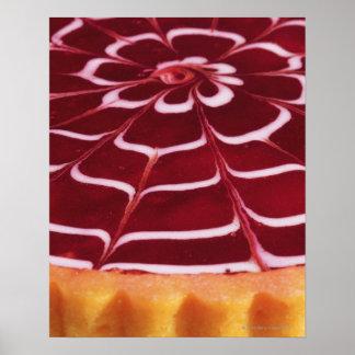 Raspberry tart poster