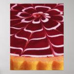 Raspberry tart print