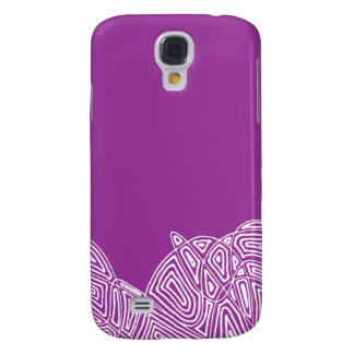 Raspberry Waves Samsung Galaxy S4 Cover