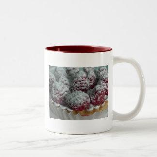 Raspberrylicious Taza De Café De Dos Colores