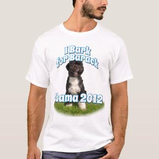 Raspo para Barack, BO el primer perro Obama Playera
