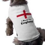 Raspo para Inglaterra Ropa De Perros