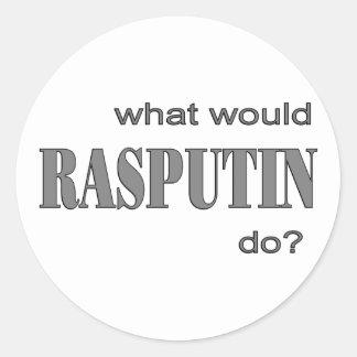 Rasputin Classic Round Sticker