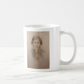 Rasputin, cuando la campana toca tres veces, él wi taza básica blanca