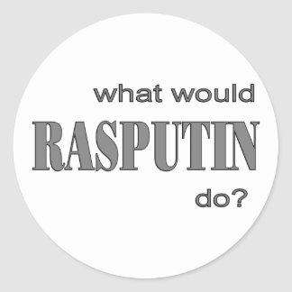 Rasputin Etiqueta Redonda
