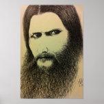Rasputin - Pen on Paper Print