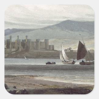 Rassella, near Kilmartin, Loch Creran, Argyll, fro Square Sticker