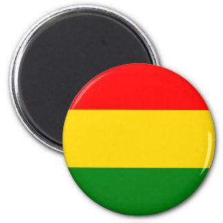 Rasta 2 Inch Round Magnet