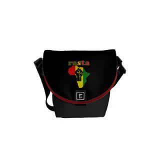 Rasta African Power Rickshaw Mini Messenger Bag