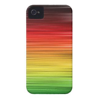 Rasta alineó la caja de la casamata de Iphone 4 Case-Mate iPhone 4 Cárcasas